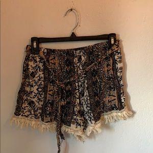 Pants - flowy boho shorts